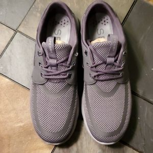 Sperry 7 Seas 3-Eye Charcoal/Gum Men's Shoes